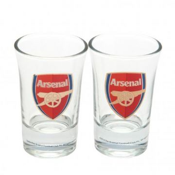 Arsenal Shot Glass Set (2 Pack)